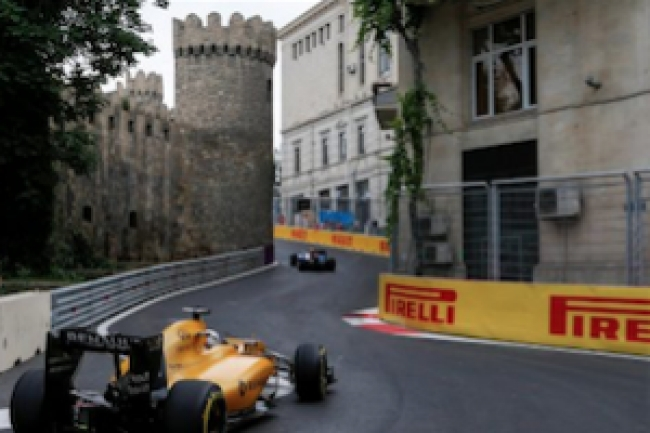 Baku hosts Formula 1 Grand Prix of Europe