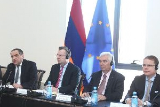 Armenia and the EU launch a third round of negotiations