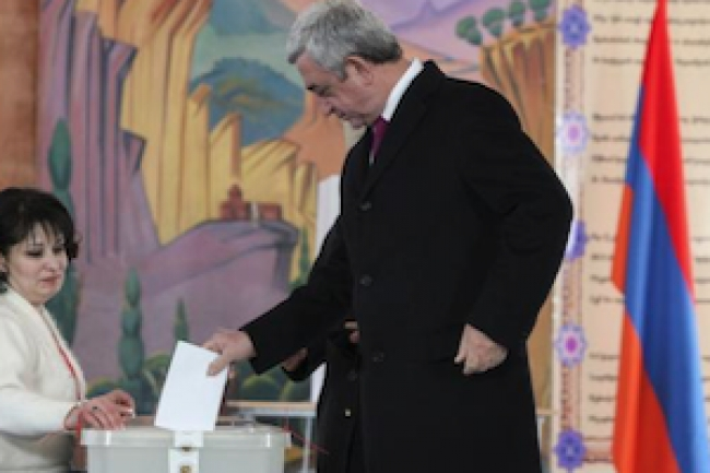 Armenia's constitutional referendum