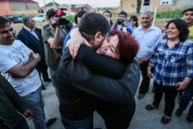 Azerbaijani journalist released