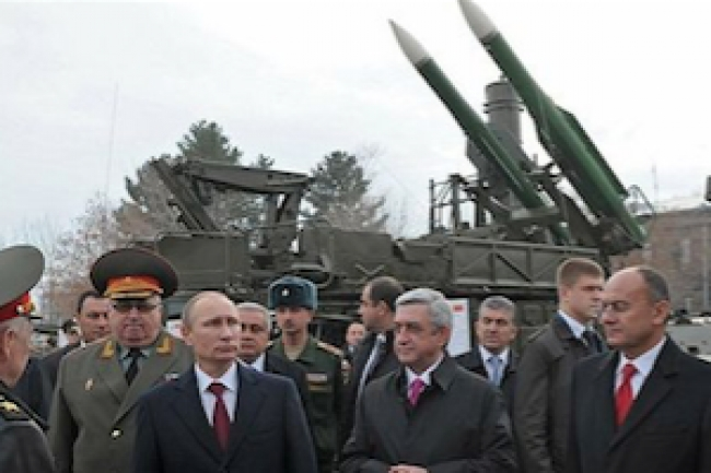 Russia creates area denial system in South Caucasus