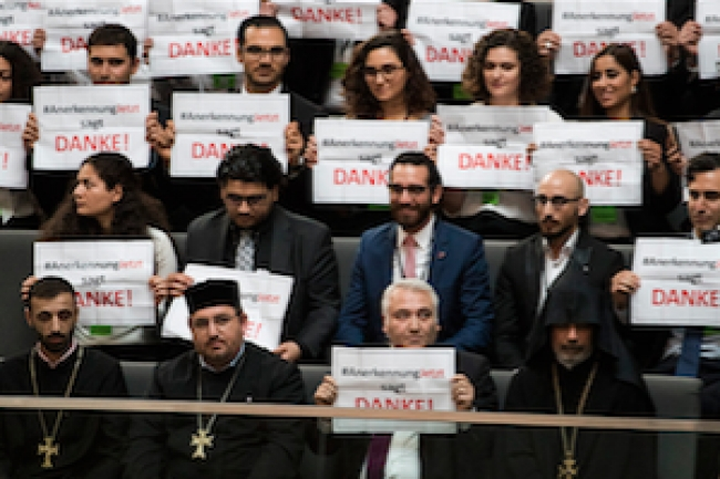 Turkey reacts to Germany's Bundestag vote on Armenian genocide
