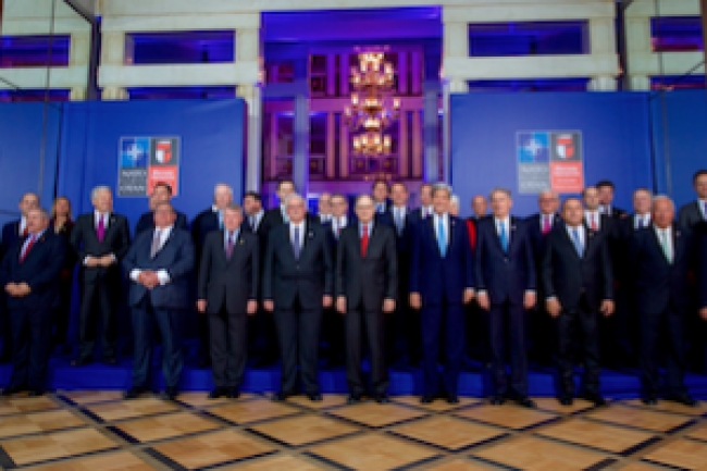 NATO summit makes progress with problems