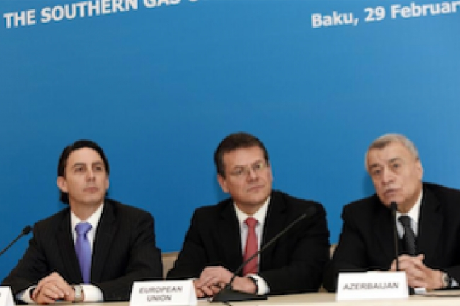 EU's Southern Gas Corridor still lacks strategic approach